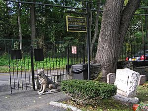 Hartsdale Pet Cemetery October 2012