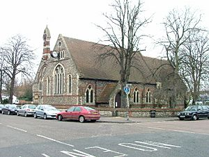Holy Trinity Church, Stevenage Old Town. - geograph.org.uk - 108329