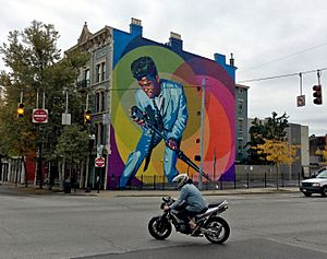 James-brown-mural cincinnati-ohio 10-31-2016