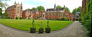 Selwyn College Old Court Panorama from North-West corner