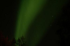 Big Dipper and Aurora