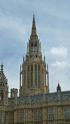 Central Tower, Palace of Westminster