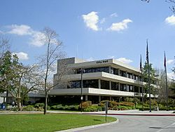 The Downey City Hall in 2006