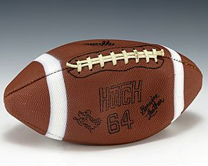 Football signed by Johnny Unitas (1991.84)