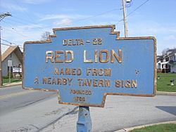 Official logo of Red Lion