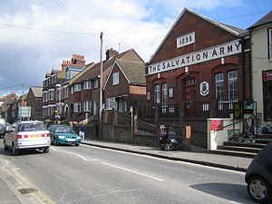 Chesham, The Salvation Army Hall, Broad Street - geograph.org.uk - 131890