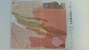 Geologic Map of the Iron Mountain area