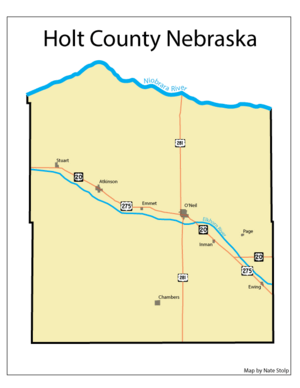Holt County Map