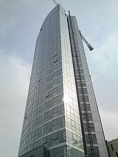 Obel Tower completed