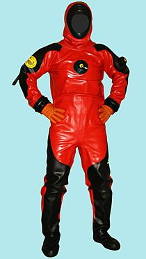 Viking pro 1000 drysuit with magnum hood