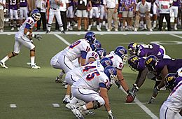 2007 Hawaii Bowl - Boise State University vs East Carolina University - BSU offense