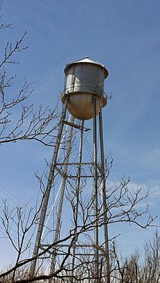 Benjamin Texas water tower