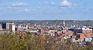 Downtown Dubuque, Iowa, Oct 2008