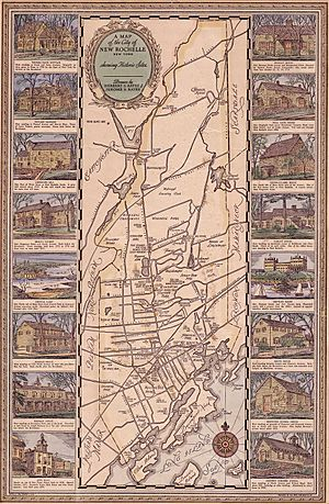 New Rochelle Map 1918