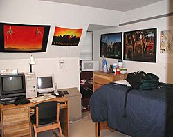 Sharp Hall Dorm Room