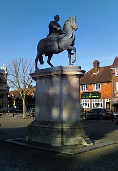 King William III Statue2, Petersfield