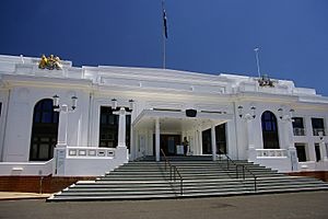 Old Parliament House, Canberra front entrance