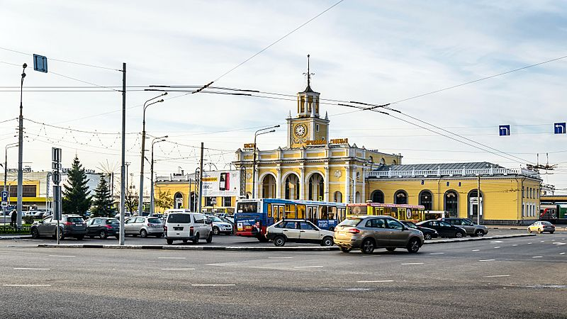 Railway Station Square of Yaroslavl