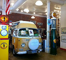 Bob Waldmire van at Route 66 Museum