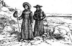 Franciscan missionaries in California