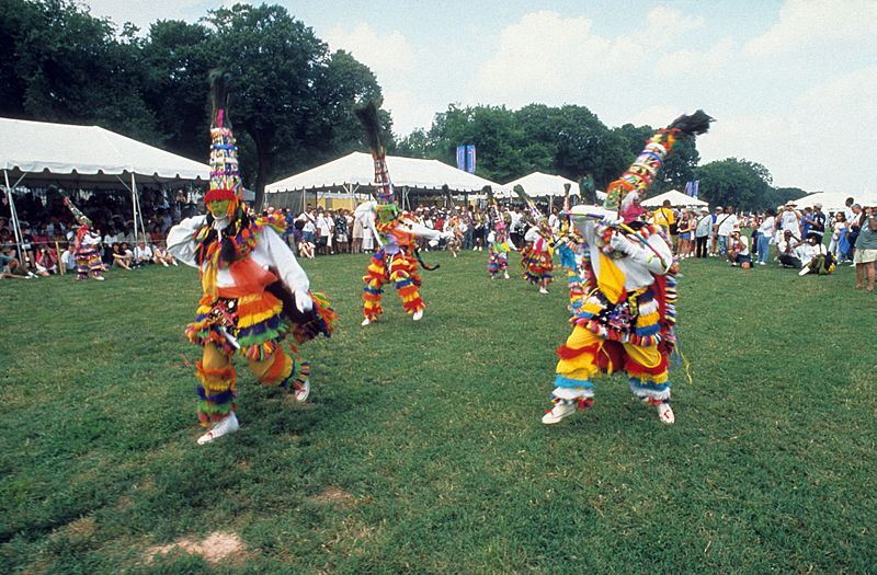 Gombey dancers from Bermuda2001