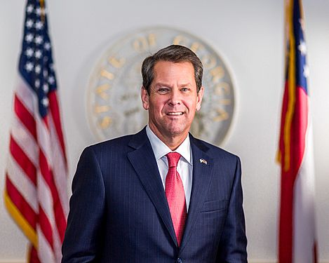Governor Kemp Official Portrait