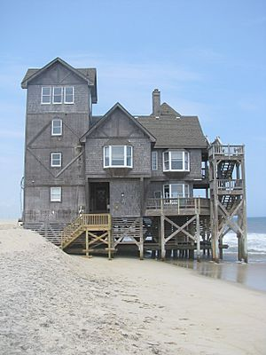 Nights in Rodanthe house south side 2009