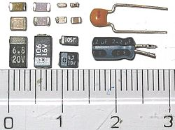 Photo-SMDcapacitors