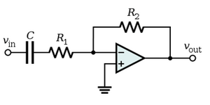 Active Highpass Filter RC
