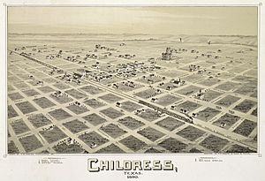 Old map-Childress-1890