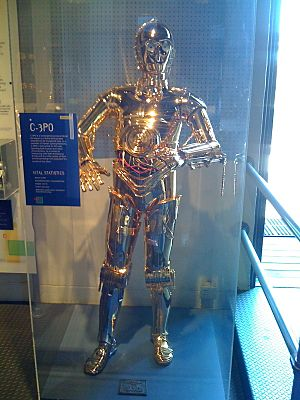 C-3PO at the Museum of Man