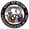 Official seal of Elgin, Illinois