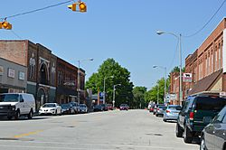 Front Street downtown
