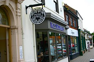 Northallerton Pizza Express