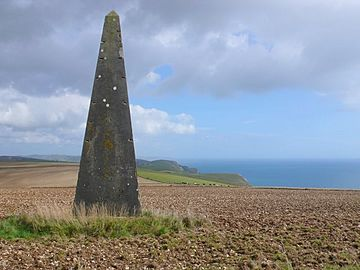 Old Navigation Beacon Chaldon Down - geograph.org.uk - 1529123.jpg