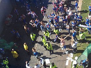 Piccadilly Police split Zenit and Rangers