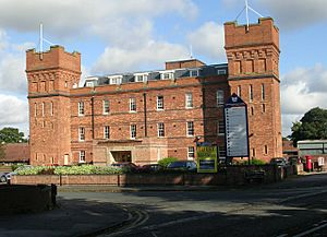 Barracks Business Centre - Wakefield Road - geograph.org.uk - 997478