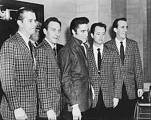Elvis Presley and the Jordanaires 1957