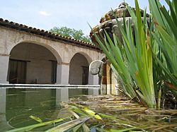 Fountain at Mission San Miguel