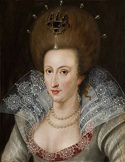 Portrait of Anne of Denmark c. 1605