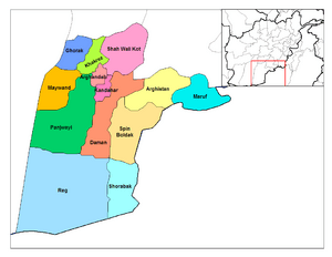 Kandahar districts