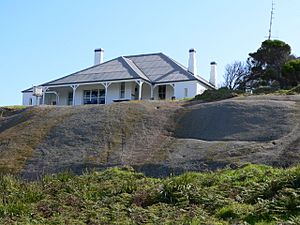 Montague island Lighthouse keepers cottage
