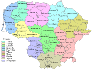 Municipalities in Lithuania