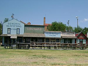 Boot Hill Museum Shops - West