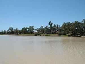 Coopers Creek Bullah waterhole