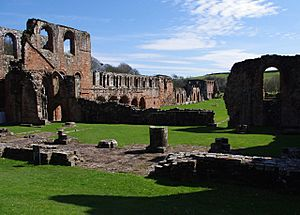 Furness Abbey, April 2010