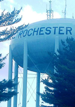 Rochester Michigan Water Tower