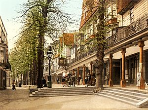 The Pantiles, (Royal) Tunbridge Wells, Kent, England, ca. 1895
