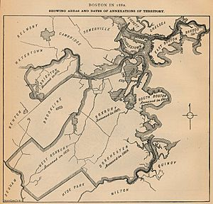 Boston annexations 1880
