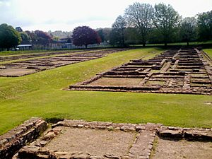 Caerleon-Roman Prysg Field Barracks
